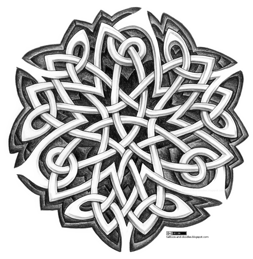 Celtic Knots, Celtic Crosses And