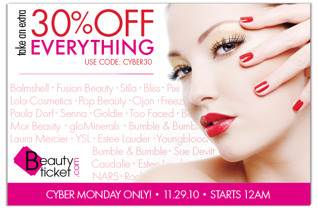 f3cd764798 Shopaholic in Alabama  Cyber Monday - Beauty Ticket Discount