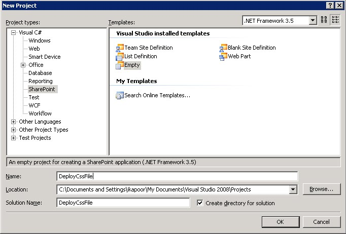 Deploy Custom Css file in SharePoint with Solution Package