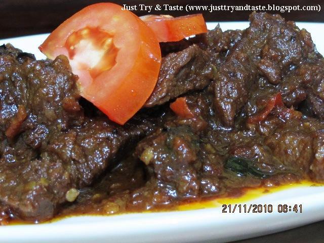 Resep Oseng-Oseng Mercon ala Just Try & Taste