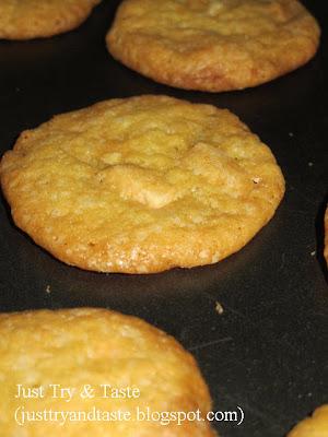 Resep Cookies Coklat Putih dan Jeruk Lemon yang Crispy JTT