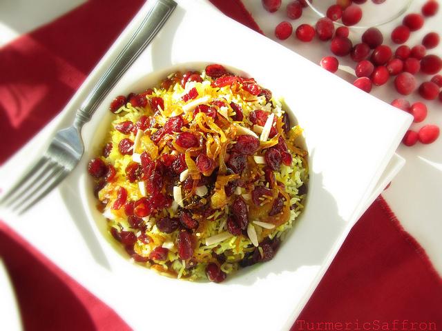 Turmeric saffron saffron rice with cranberries saffron rice with cranberries forumfinder Images