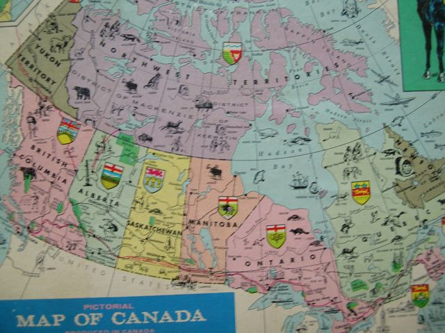 Map Of Canada Puzzle.Map Of The Week Map Of The Weekend The Canada Puzzle