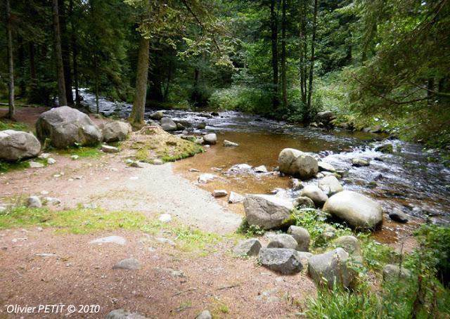 GERARDMER (88) - Le sentier écologique des Perles de la Vologne