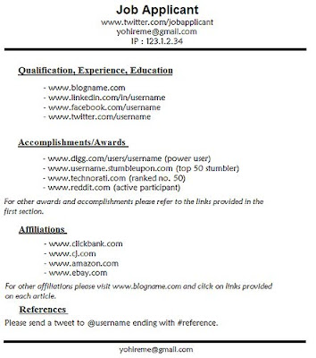 perfect job resume markushenritk