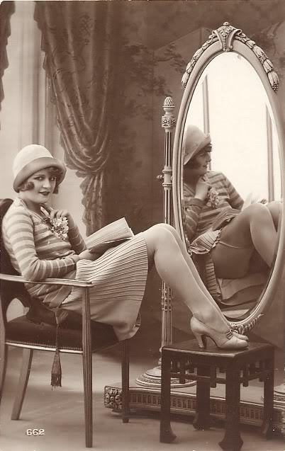 Antique Standing Mirror