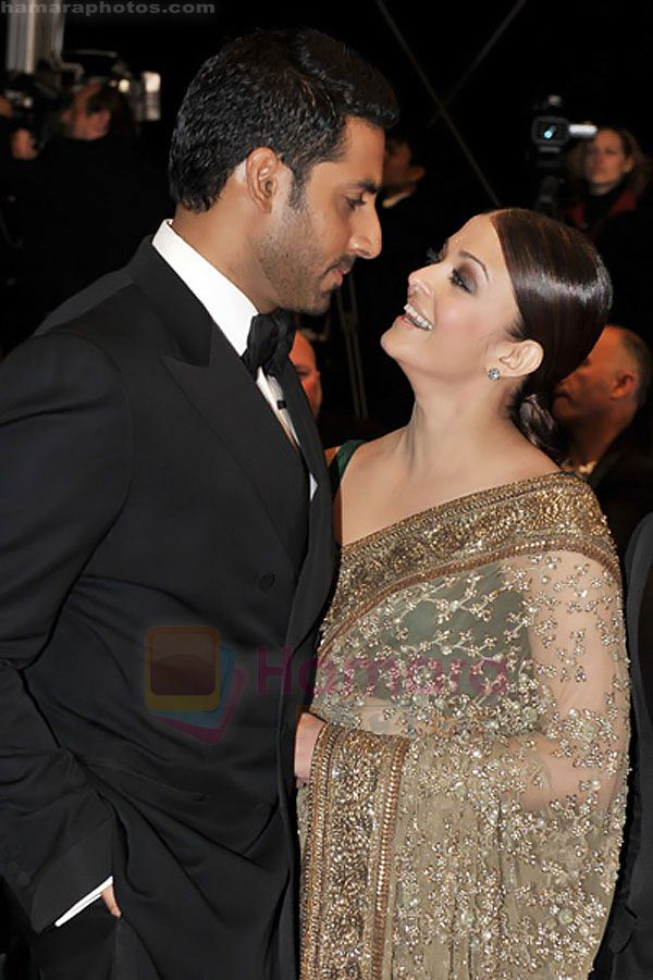 Abhishek,+Aishwarya+Rai+Bachchan+attend+the+premiere+of+OUTRAGE+at+the+Palais+des+Festivals+during+the+63rd+Annual+International+Cannes+Film+Festival+on+May+17,+2010+in+Cannes,+France+(1)