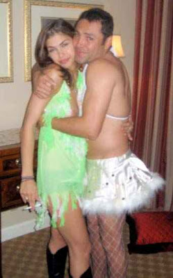 Oscar delahoya in pantyhose