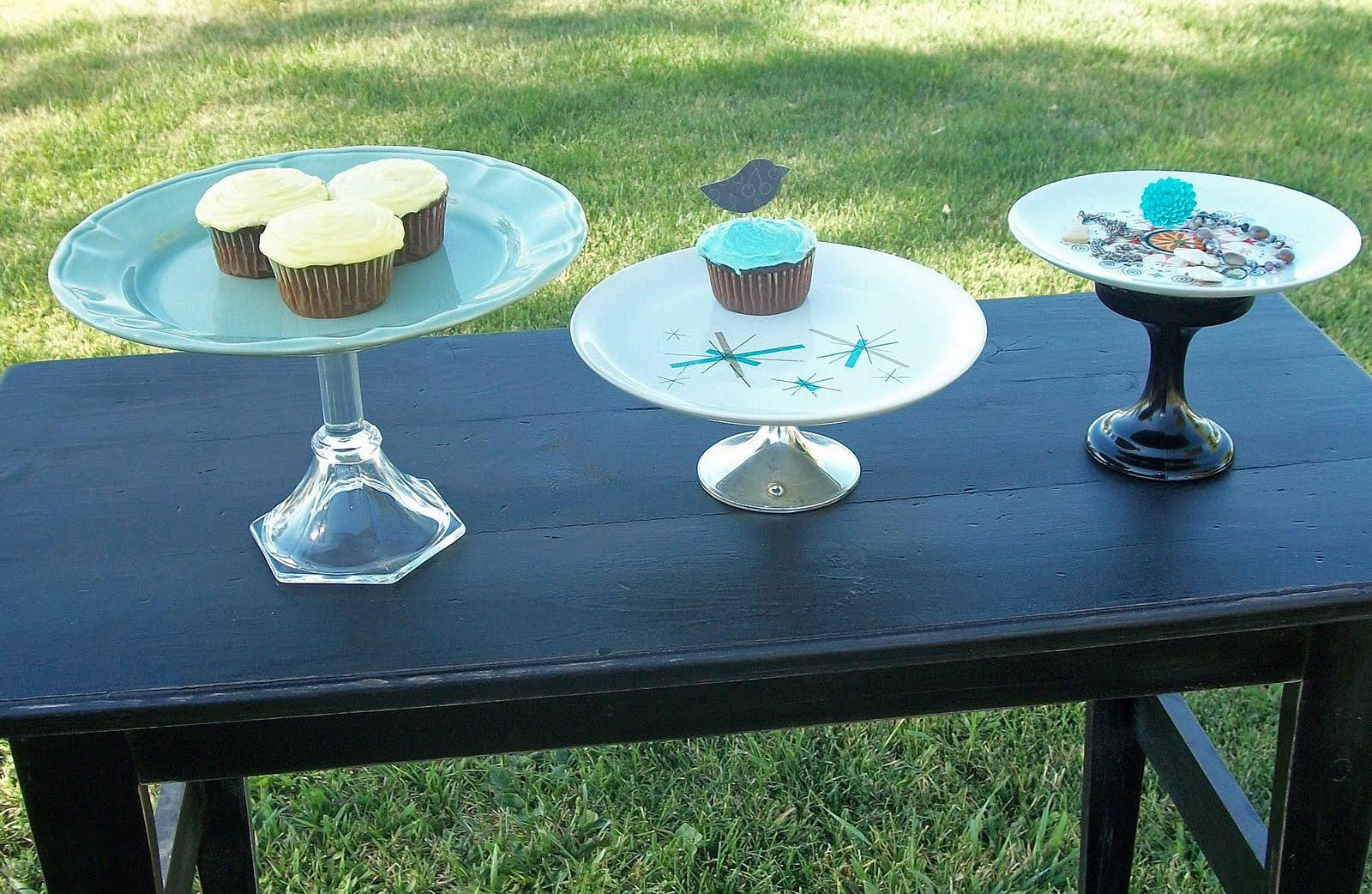 Dandelion Pickers Unique Cake Stands 4 Sale