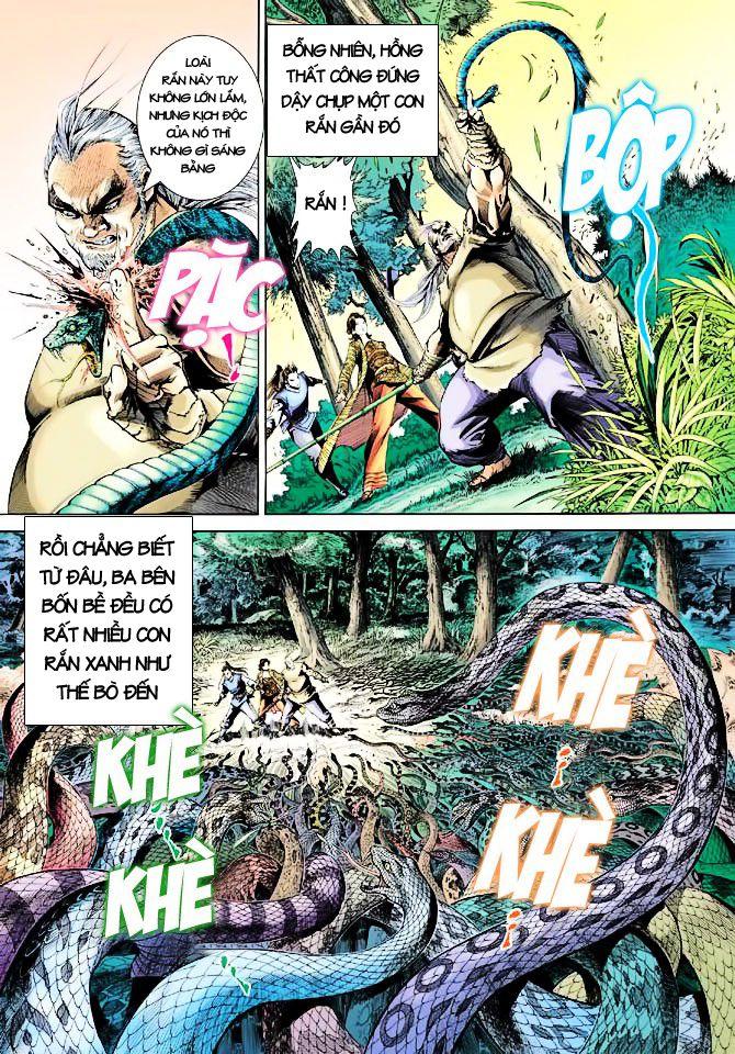 Anh Hùng Xạ Điêu anh hùng xạ đêu chap 23 trang 31