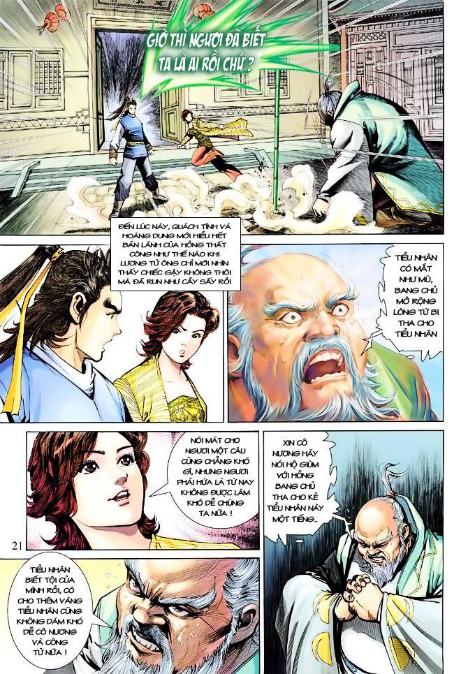 Anh Hùng Xạ Điêu anh hùng xạ đêu chap 23 trang 21