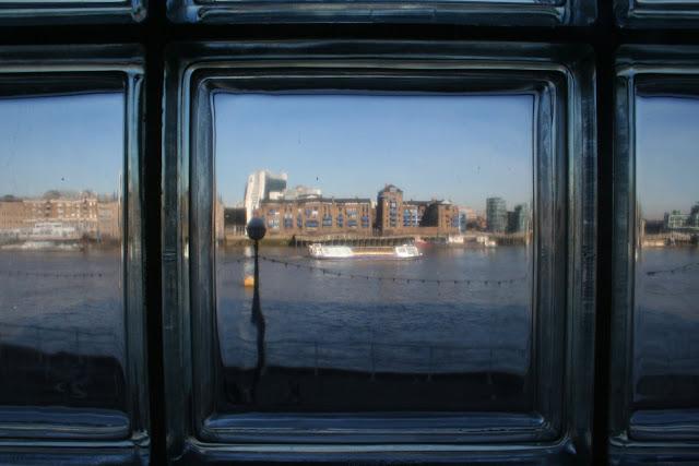 Thameside view, London