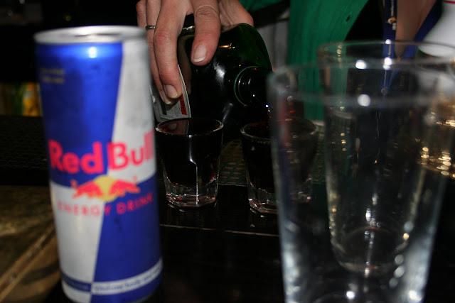 shot glass of Jagermeister liqueur