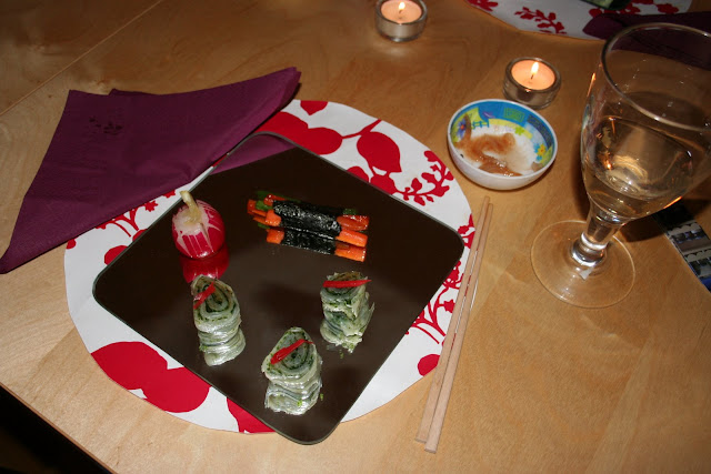 Sushi at Horton Jupiter's supperclub