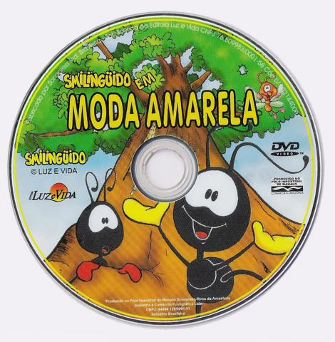 dvd do smilinguido moda amarela