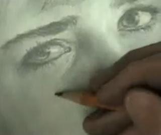 Lukisan Sketsa
