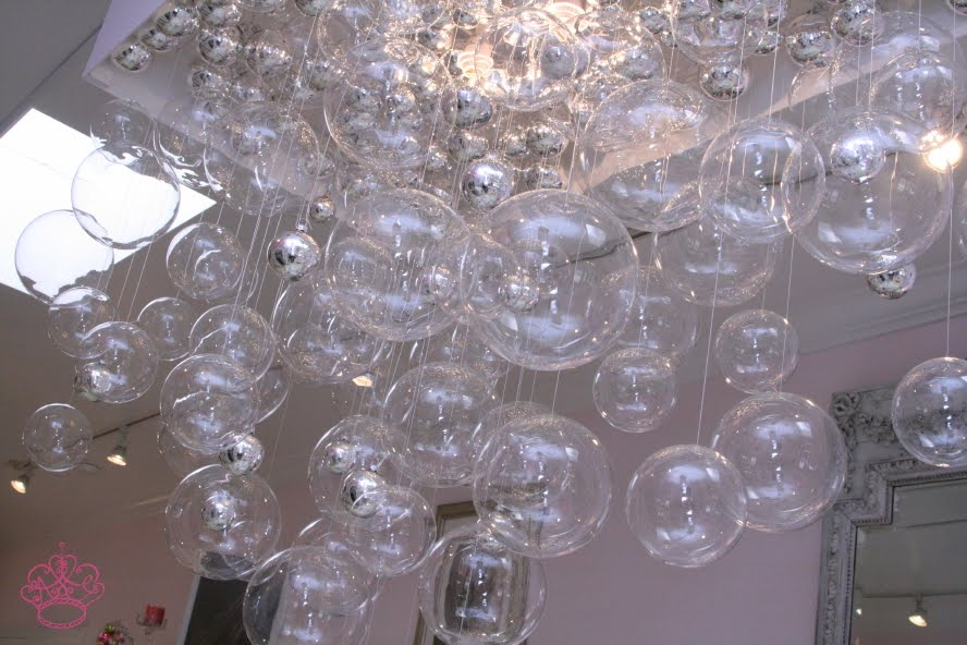 diy bubble chandelier popsugar home - Bubble Chandelier