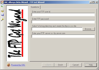 Alteryx FTP Get Wizard, or Conversations with Margarita