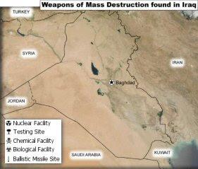 Armi di distruzione di massa trovate in Iraq