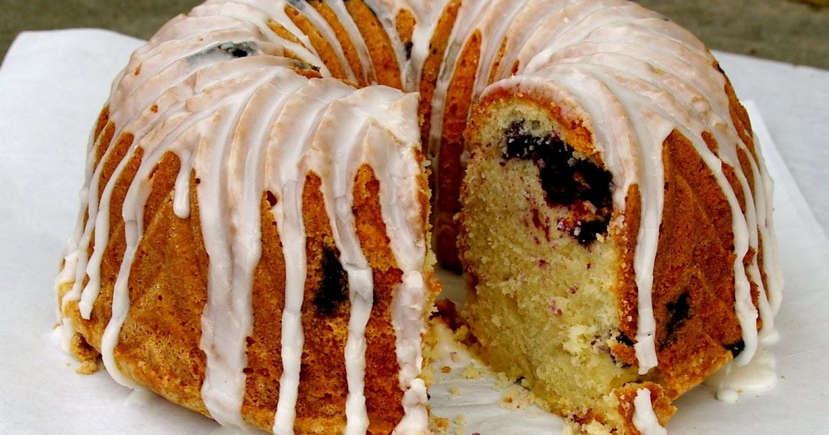 Lemon Blueberry Pound Cake With Cake Mix