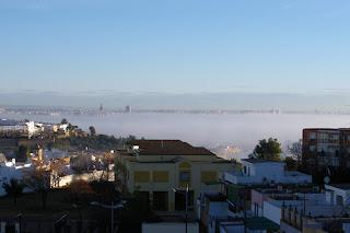Niebla sobre el Guadalquivir