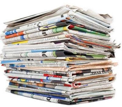 Image result for εφημερίδες