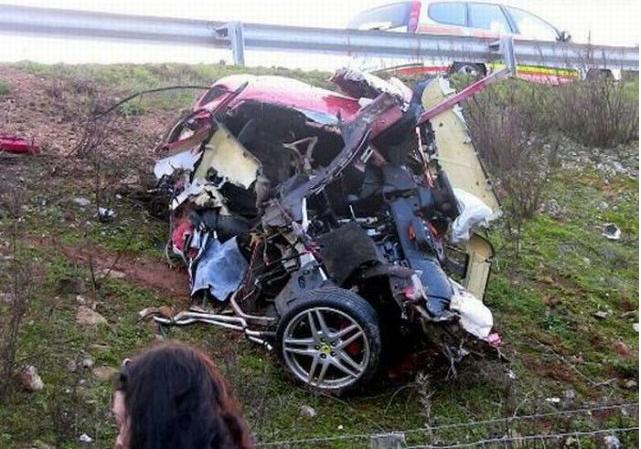 Fun Is On Air: Badly Wrecked Exotic Cars