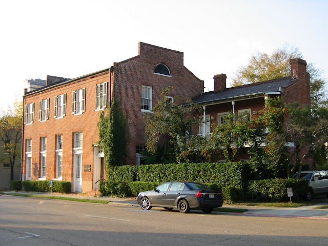 HISTORICAL BATON ROUGE: THE WARDEN'S HOUSE of the LA State