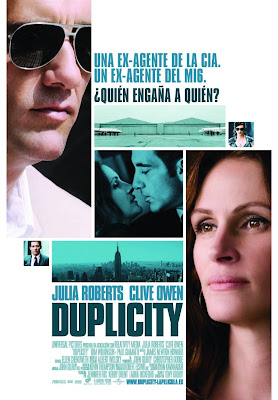Duplicity International Movie Poster