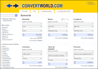Convertidor de unidades online