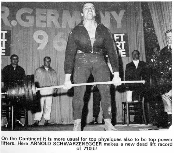 Powerlifting history