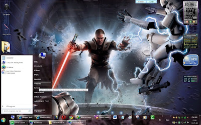 Star wars windows 7 theme
