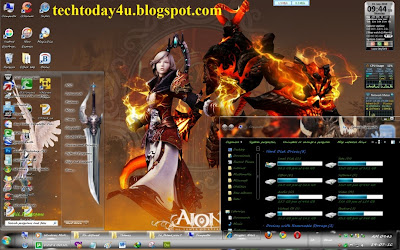 Aion: The Tower of Eternity Games Theme for Windows 7