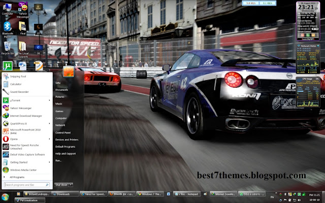 NFS Shift Gaming Theme For Windows 7