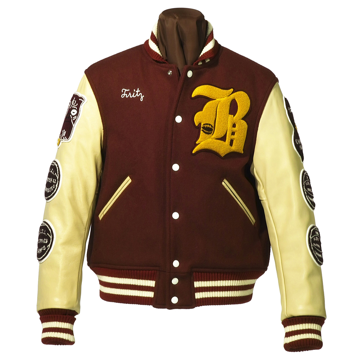 "LETTERMAN JACKET ""BURLINGTON CATHOLIC"""