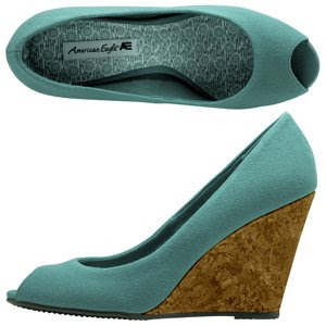Green Wedge Shoes Sale