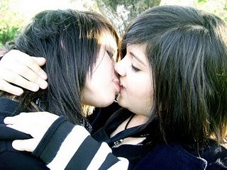 Rated Teens In Shirts Kissing 104