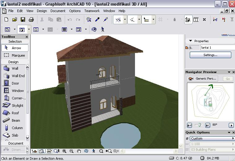 Tutorial archicad 13 import file sketchup di archicad, vice.