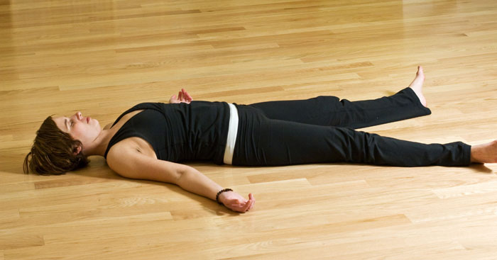 YOGA WORLD: Savasana (Corpse Pose)