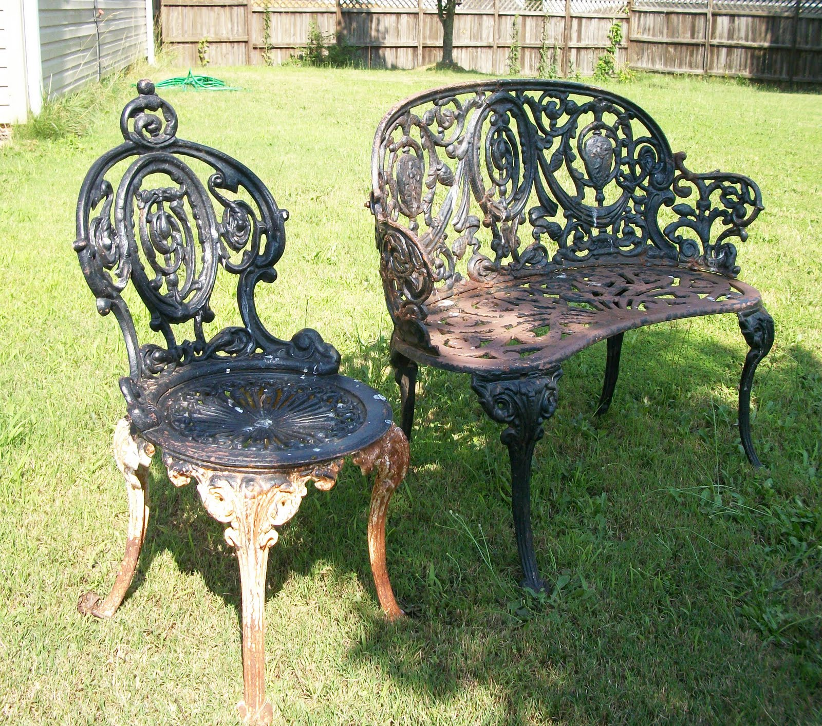 Tools Are For Women Too!: How To Paint Cast Iron Furniture