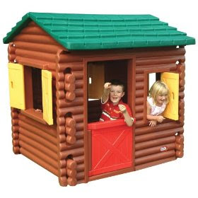 Toys4toddlers Little Tikes Log Cabin Playhouse Xxl