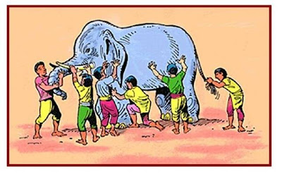 Apologia The Blind Men And The Elephant