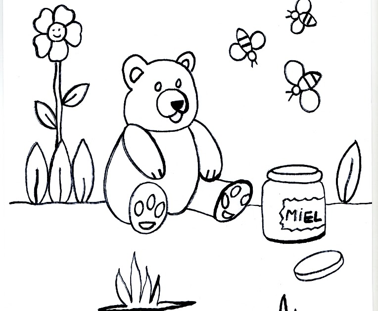 Imagenes Oso Panda Para Colorear