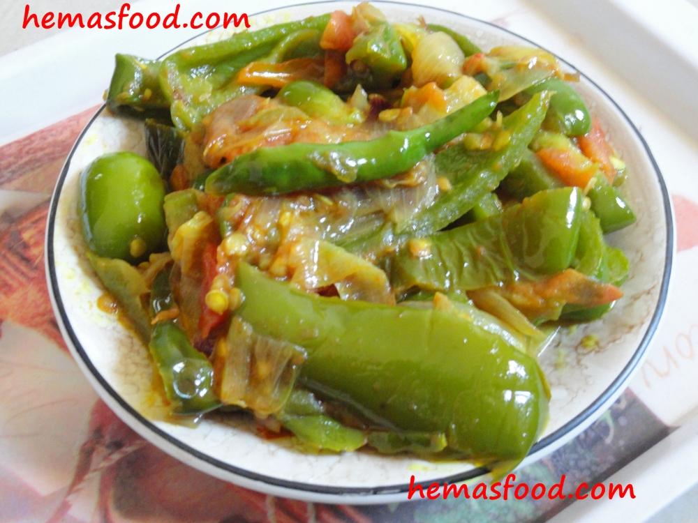 Capsicum Tomato Stir Fry