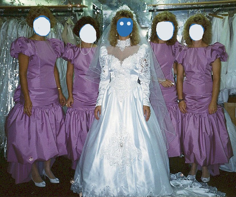 Hideous Wedding Gowns: Weddingzilla: Ugly Fugly Bridesmaid Dresses, Pics Of