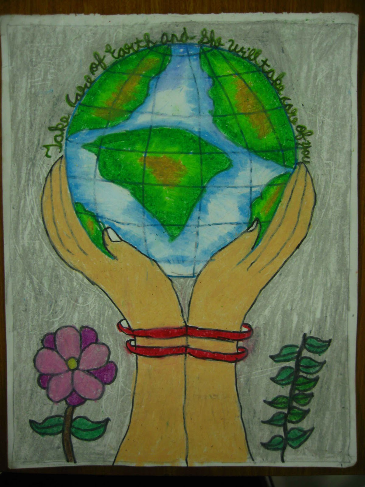 The Green Life: RESULTS!! - Children's Day Drawing Competition