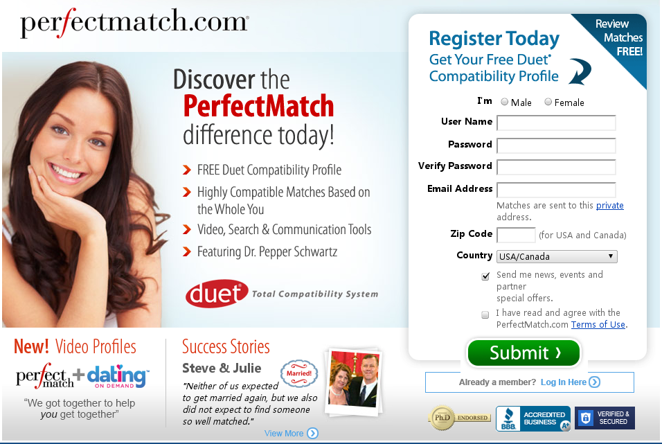 free online dating and matchmaking service for singles