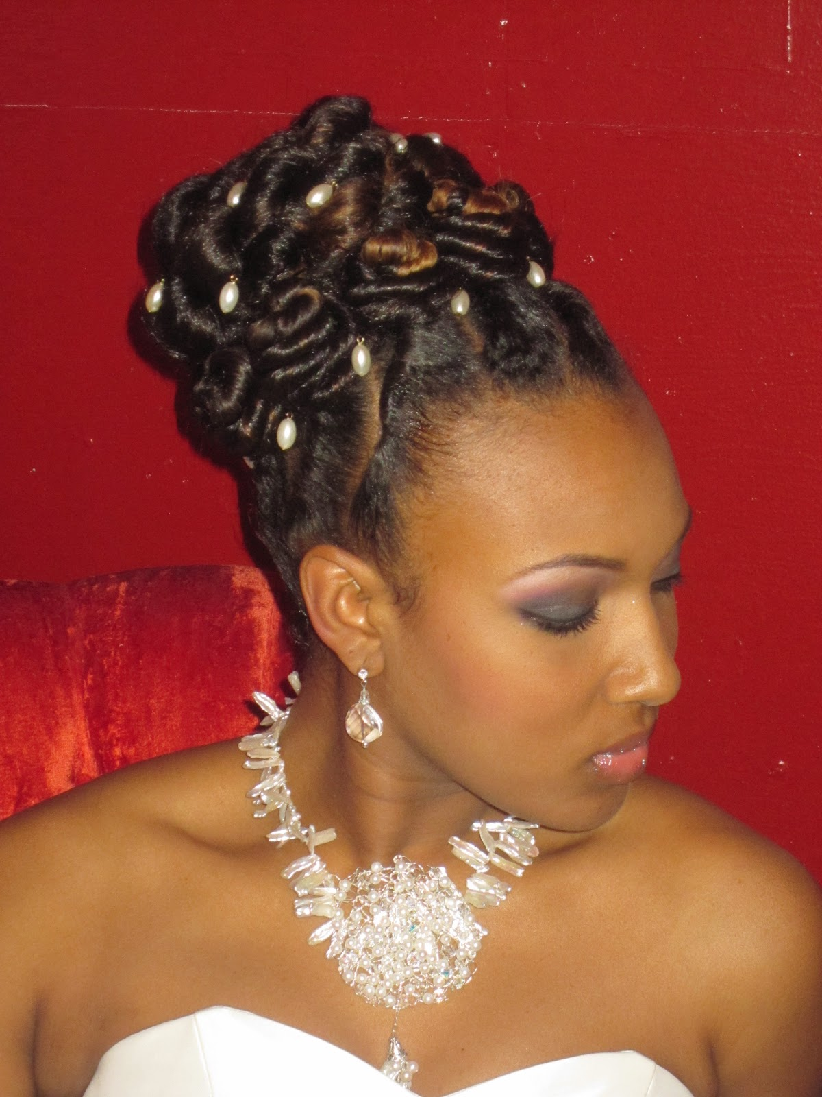 Coiffure Afro Bantu Knots Braids Locs Twists And Natural Hair By Maria Thompson