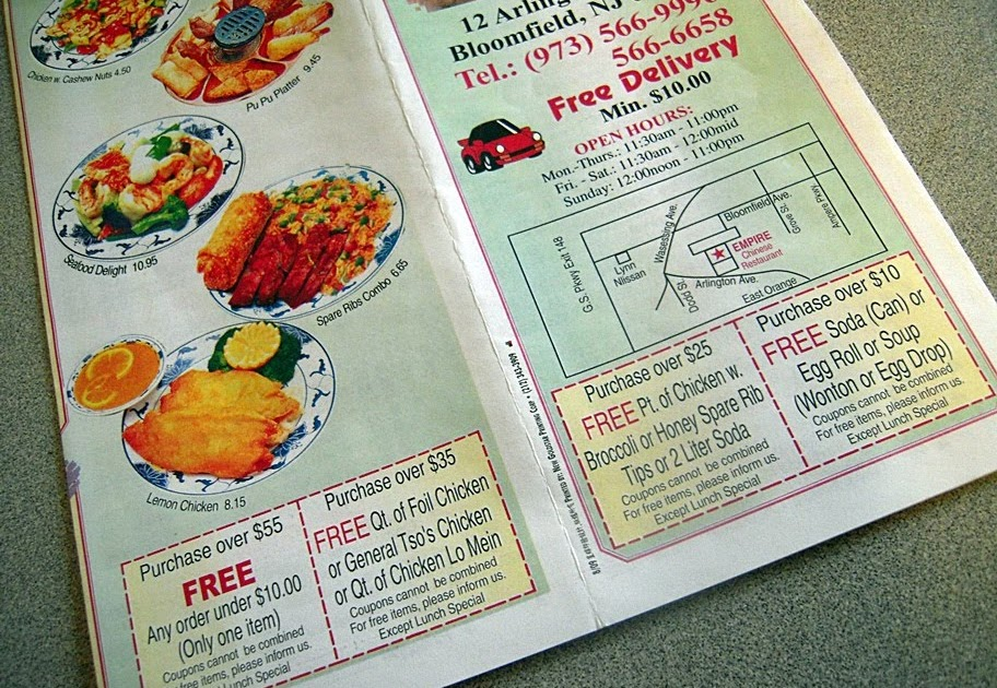 Chinese Food Restaurant In Bloomfield Nj