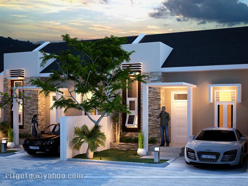 Desain Rumah Etnik Modern Rumah Minimalis Terbaru
